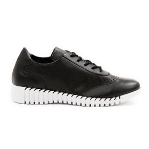 Ramiam-Womens-Black-Leather-Trainer-
