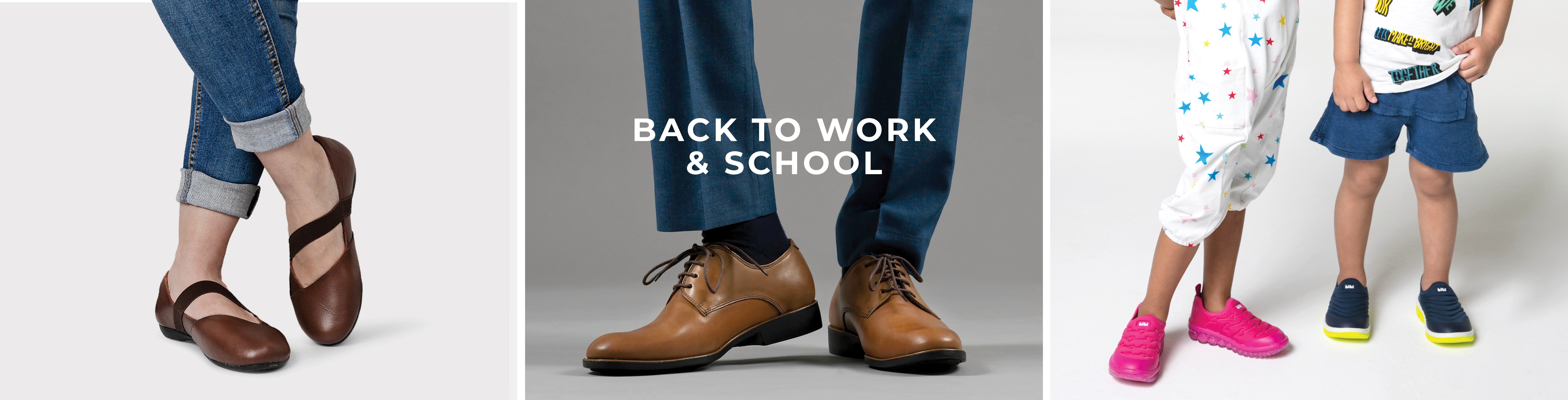 Back to work and school